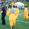 Newburgh Free Academy Valedictorian Bana Hadid receives her diploma during NFA's 149th Commencement Exercises for the graduating Class of 2014 on Thursday, June 26, 2014 in Newburgh, NY. Hudson Valley Press/CHUCK STEWART, JR.