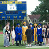 NFA Madrigals perform on Academy Field at Newburgh Free Academy during NFA's 149th Commencement Exercises for the graduating Class of 2014 on Thursday, June 26, 2014. Hudson Valley Press/CHUCK STEWART, JR.