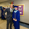 US Rep. Sean Patrick Maloney greets USMA candidate and Poughkeepsie High School Salutatorian Matthew Anderson prior to the 142nd Commencement Exercises for the graduating Class of 2014 on Friday, June 27, 2014 in Poughkeepsie, NY. Hudson Valley Press/CHUCK STEWART, JR.