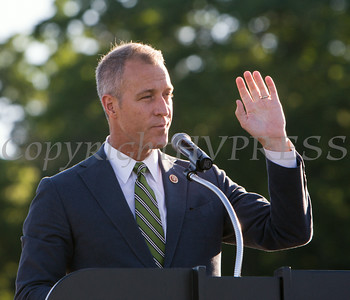 US Rep Sean Patrick Maloney offers remarks to Poughkeepsie High School graduates during their 142nd Commencement Exercises for the graduating Class of 2014 on Friday, June 27, 2014 in Poughkeepsie, NY. Hudson Valley Press/CHUCK STEWART, JR.