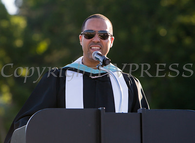 Salvador Contes presents the Honor Graduates of Poughkeepsie High School during their 142nd Commencement Exercises for the graduating Class of 2014 on Friday, June 27, 2014 in Poughkeepsie, NY. Hudson Valley Press/CHUCK STEWART, JR.