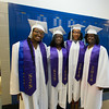 Members of Poughkeepsie High School's Sister 2 Sister group prior to the 142nd Commencement Exercises for the graduating Class of 2014 on Friday, June 27, 2014 in Poughkeepsie, NY. Hudson Valley Press/CHUCK STEWART, JR.