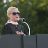 Poughkeepsie High School Senior Class Advisor Heather Martino offers remarks at the 142nd Commencement Exercises for the graduating Class of 2014 on Friday, June 27, 2014 in Poughkeepsie, NY. Hudson Valley Press/CHUCK STEWART, JR.