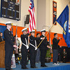 Middletown High School NJROTC presents the Colors at the 28th Annual Sojourner Truth Awards, held at SUNY Orange in Middletown, NY on Friday, March 14, 2014. Hudson Valley Press/CHUCK STEWART, JR.