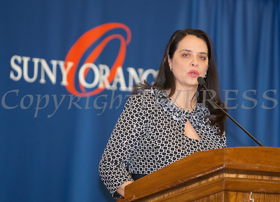 The Honorable Maria Vazquez-Doles was the Keynote Speaker for the 28th Annual Sojourner Truth Awards, held at SUNY Orange in Middletown, NY on Friday, March 14, 2014. Hudson Valley Press/CHUCK STEWART, JR.