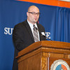 SUNY Orange Director of Admissions and Recruitment Maynard Schmidt offers remarks at the 28th Annual Sojourner Truth Awards, held at SUNY Orange in Middletown, NY on Friday, March 14, 2014. Hudson Valley Press/CHUCK STEWART, JR.