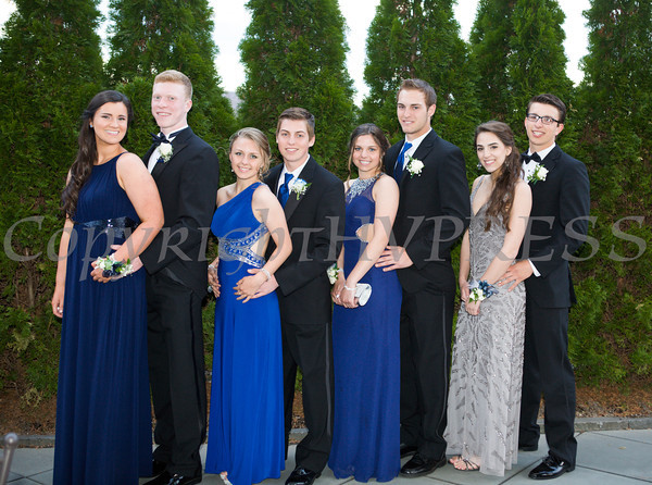Students pose before entering Anthony's Pier 9 in New Windsor, NY on Friday, May 2, 2014, the location of the Valley Central High School Senior Prom. Hudson Valley Press/CHUCK STEWART, JR.