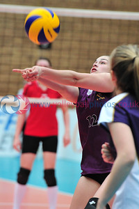 Scottish Volleyball Association, Women's Junior Super Cup Final, Marr College v NL Ragazzi, Wishaw Sports Centre, Wishaw.