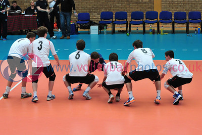 Scottish Volleyball Association, Men's Junior Super Cup Final, Team Lanarkshire v City of Edinburgh, Wishaw Sports Centre, Wishaw.