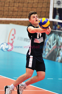 Scottish Volleyball Association, Men's Plate Final, University of Edinburgh v City of Edinburgh, Wishaw Sports Centre, Wishaw.