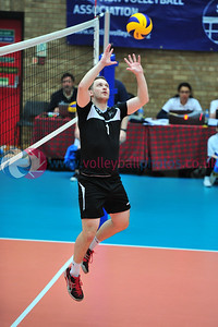 Scottish Volleyball Association, Men's Cup Final, Edinburgh Jets 3 v 2 Glasgow Mets (20-25, 25-19, 20-25, 25-23, 15-8), Wishaw Sports Centre, Wishaw.