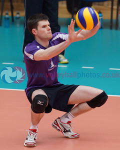 Scottish Volleyball Association, Thistle Bowl Final, South Ayrshire v Dundee, Wishaw Sports Centre, Sat 26th Apr 2014 © Michael McConville