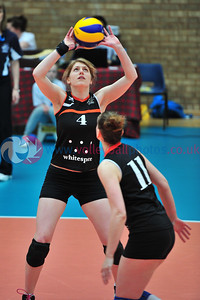 Scottish Volleyball Association, Women's Cup Final, Edinburgh Jets 3 v 0 QTS Troon Team Ayrshire (22,16, 22), Wishaw Sports Centre, Wishaw.