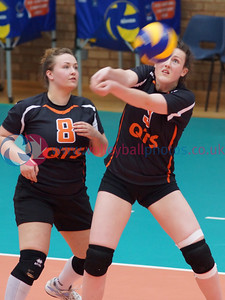 Scottish Volleyball Association, Women's Scottish Cup Final, Edinburgh Jets 3 v 0 QTS Troon Team Ayrshire (22, 16, 22), Wishaw Sports Centre, Sun 27th April 2014