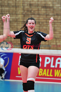 Scottish Volleyball Association, Women's Cup Final, Edinburgh Jets v QTS Troon Team Ayrshire, Wishaw Sports Centre, Wishaw.