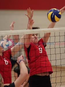 Women's 2014 John Syer Trophy Final, Su Ragazzi 3 v 1 QTS Troon TA (25-22, 25-19, 17-25, 25-21), Linlithgow Academy, Sun 7th Dec 2014