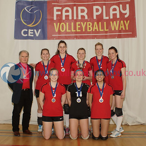 Women's 2014 John Syer Trophy Final, Su Ragazzi 3 v 1 QTS Troon TA (25-22, 25-19, 17-25, 25-21), Linlithgow Academy, Sun 7th Dec 2014