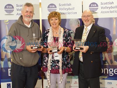 SVA Lifetime Awards, CEV 2015 Women's European Championships, Bell's Sport Centre, Perth.    © Michael McConville