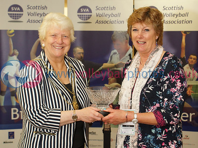 SVA Lifetime Awards, CEV 2015 Women's European Championships, Bell's Sport Centre, Perth.    © Michael McConville