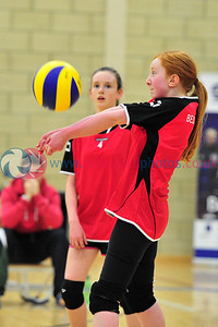Scottish Volleyball Association Girls Schools Cup Finals, Tue 25th Mar 2014