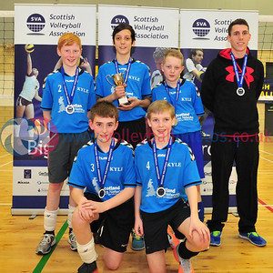 Scottish Volleyball Association Boys Schools Cup Finals, Thu 27th Mar 2014