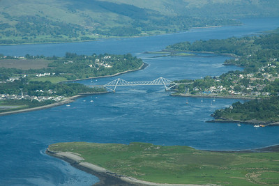 Connel Bridge  310514 Aerial