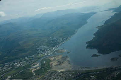 Fort William & Loch Lomond 310514 Aerial