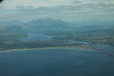 Oban Airfield & Connel Bridge
