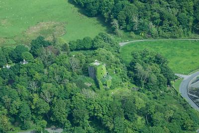 Dunollie Castle A 310514 Aerial