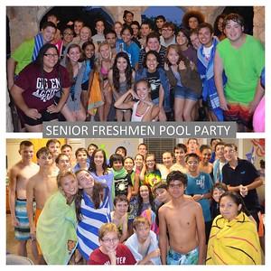 Senior ~ Freshmen Pool Party