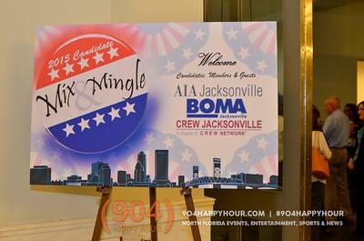 2015 Candidate Mix & Mingle @ Jacksonville Public Library - 9.16.14