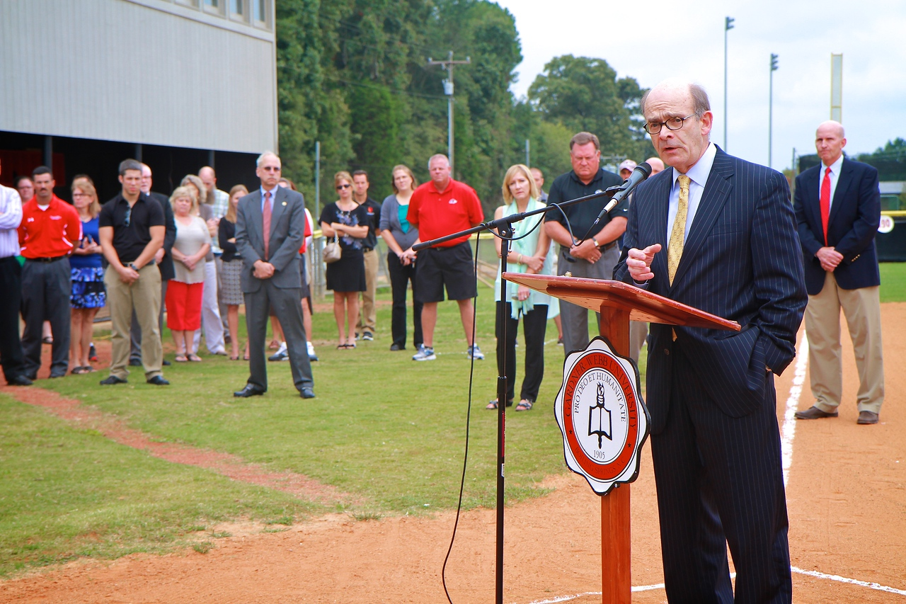 Softball Stadium Groundbreaking; Fall 2014