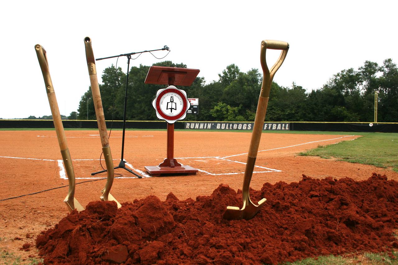 2014 Softball Groundbreaking