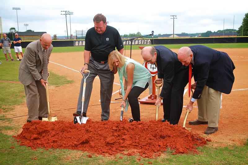 Softball Stadium Groundbreaking; Fall 2014
