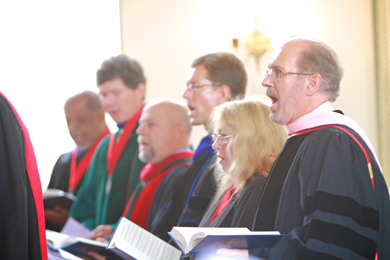 School of Divinity celebrates Fall 2014 convocation.