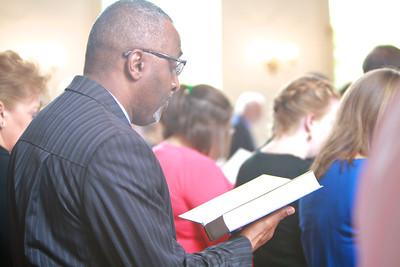 School of Divinity celebrates Fall 2014 convocation.