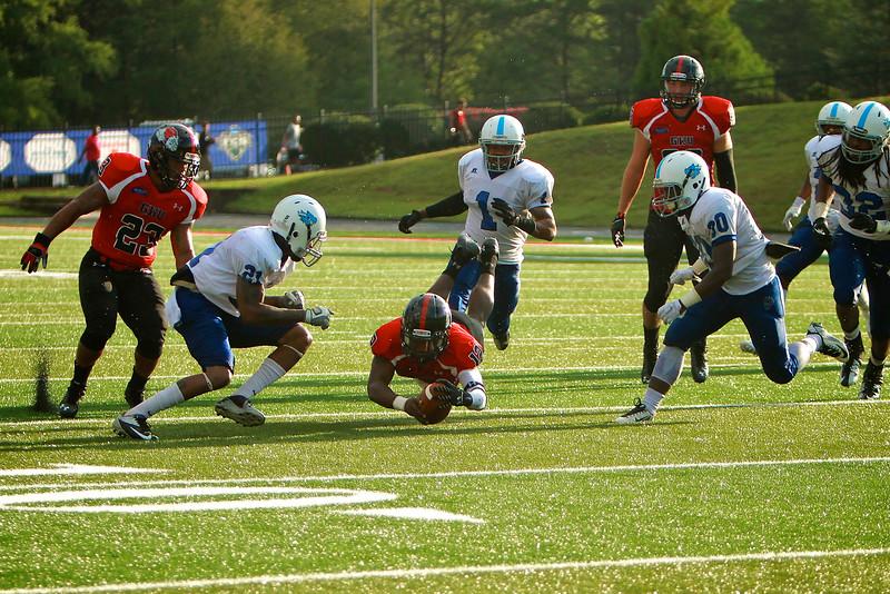 GWU Football vs. Virginia-Lynchburg; September 13, 2014.