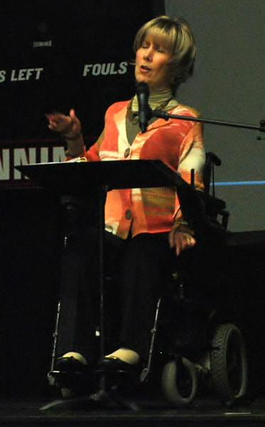 Joni Eareckson Tada speaks at dimensions.