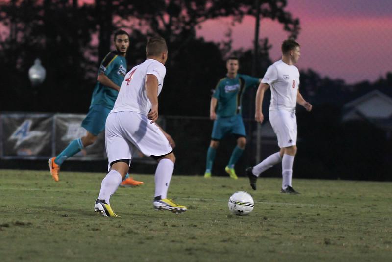 GWU mens soccer falls to Coastal Carolina 2-1 on Tuesday night.