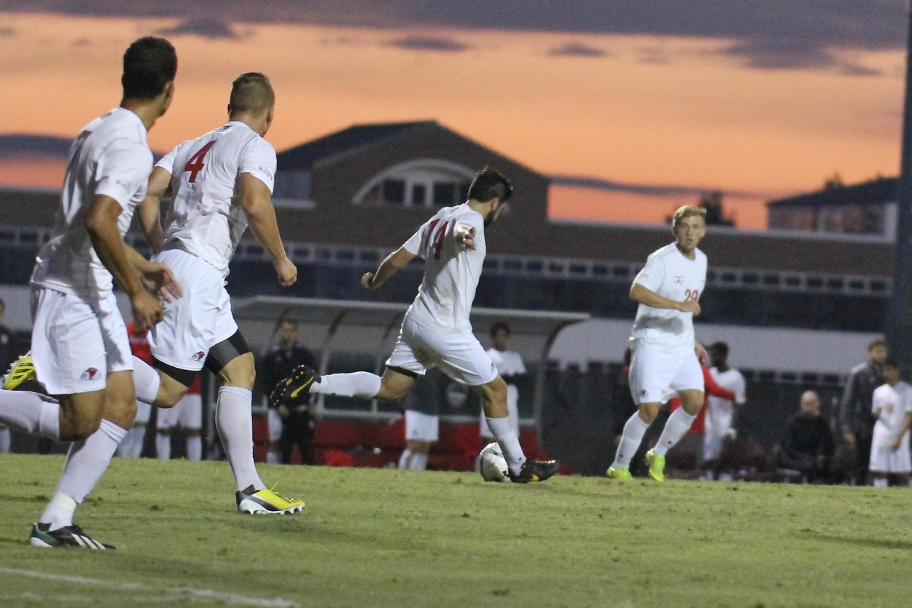 GWU mens soccer falls to Coastal Carolina 2-1 on Tuesday night.