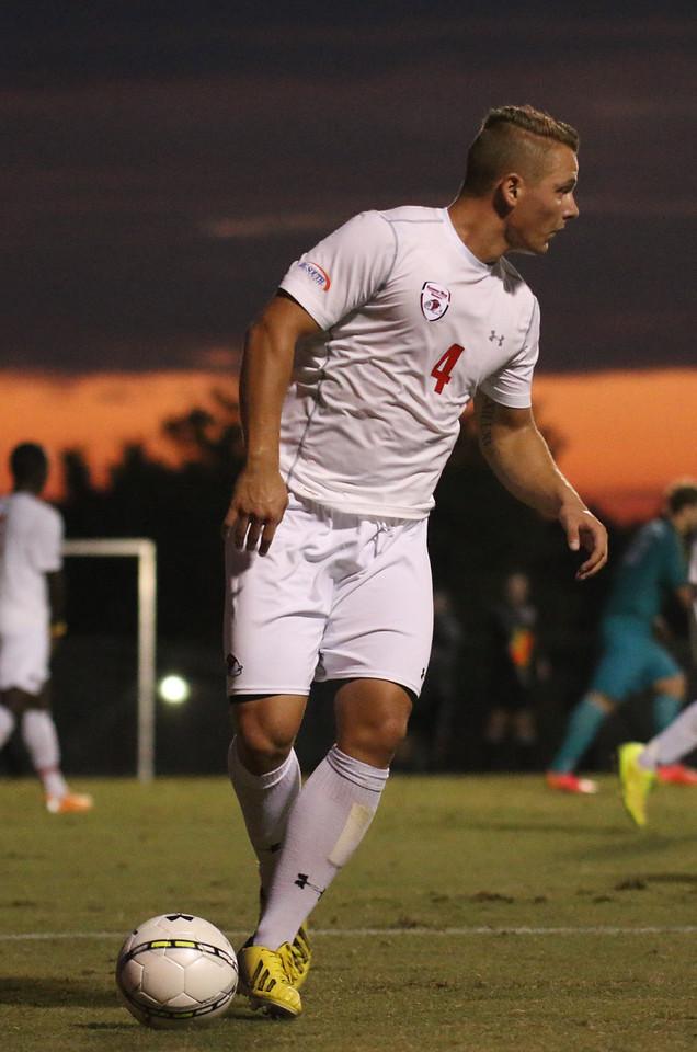 GWU men's soccer falls to Coastal Carolina 2-1 tuesday night. Photos by Hannah Covington