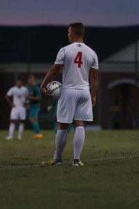 GWU men's soccer falls to Coastal Carolina 2-1 tuesday night. Photos by Hannah Covington