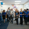 JOED VIERA/STAFF PHOTOGRAPHER-Lockport, NY-Goodwill Board Member cuts the ribbon during a ceremony for their grand Re-Opening on Thursday, August, 28th.