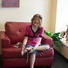 JOED VIERA/STAFF PHOTOGRAPHER-Lockport, NY-Cynthia Saloman trys on a pair of shoes at Bling on Wednesday, August, 27th.