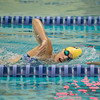 JOED VIERA/STAFF PHOTOGRAPHER-Lockport, NY-Lockport High School swimmer Savanah Pencillepractices on Friday, August, 22nd.