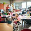 JOED VIERA/STAFF PHOTOGRAPHER-Lockport, NY-Roy B. Kelley Elementary students get ready for first day of school on Wednesday, September,3rd.