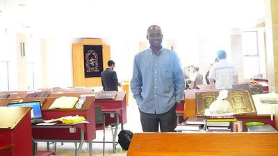 Serge Etele in Israel - from Cameroon