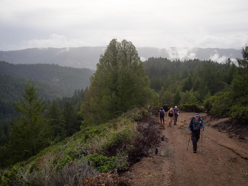 Ward Road ascent