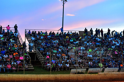 A record crowd was on hand for the first LOLMDS visit @ Smoky Mountain Speedway