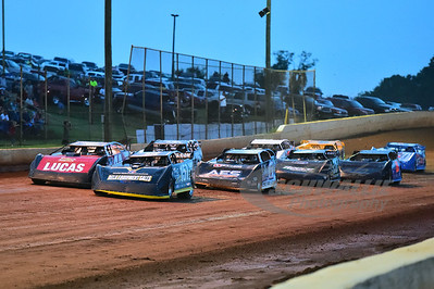 Heat Race Action @ Smoky Mountain Speedway